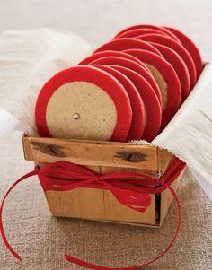 Cookie Exchange packaging - rustic!