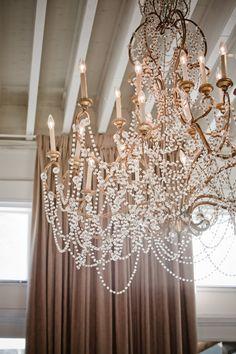 Glam chandelier!