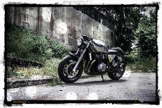 GSX 750 Saudade - Mais em http://garagemcaferacer.blogspot.com.br/