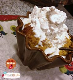 CrockPot Crustless Pumpkin Pie {Slow Cooker Sunday} - Todays Creative Blog