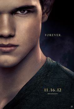 New Jacob poster for The Twilight Saga: Breaking Dawn - Part 2.