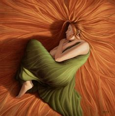 So cool. Kinda a modern rendition of Flaming June