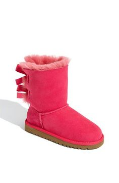 Ugg boots and pink ribbon-love it