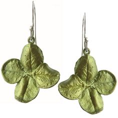 Four Leaf Clover Earrings, Michael Michaud