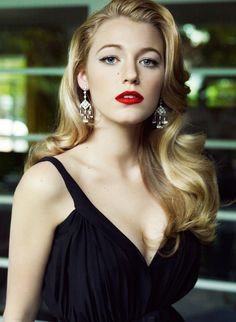 Blake Lively for Vogue. #SoClassy