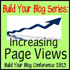 Do these little things to increase your blog's page views! BuildYourBlogConference.com