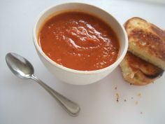 Cooking with Amy: A Food Blog: Smoky Tomato Soup Recipe