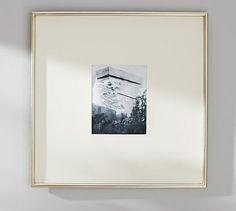 Gallery Wall: PB Gilt Oversized Frames