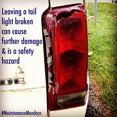 Leaving a taillight broken can damage the light/bulb.  Moisture can dim the light and decrease visibilty. DIY patches and repair kits exist for minor damage, but some may require a lens replacement