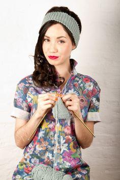 Newbie Knitted Headband | Kollabora