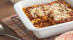 Mac & Cheese Lasagna..  Kids love mac and cheese, and when it's combined with classic lasagna flavors of meat sauce and mozzarella, adults can't wait to dig in either. This is a savory, cheesy hit.
