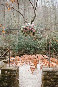 Ceremony venue Tennessee Vintage Mountain Wedding decor, notebook, idea, great smoky mountains, mountain weddings, dream, hitch, ceremoni venu, outdoor weddings