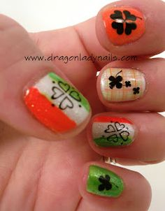 Dragon Lady Nails: St. Patrick's Day