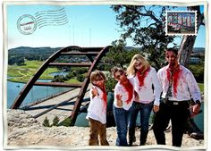Zombie Family Photo