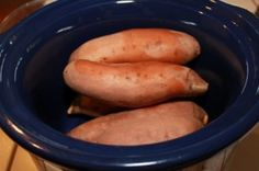 Slow Cooker Sweet Potatoes recipe