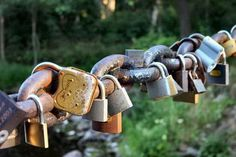 if i get married put a lock on a lock fence