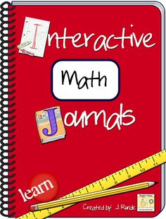 Awesome ideas for Interactive Math Journals (Jennifer is AWESOME!!!)