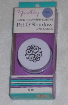 Yardley London Look Pot O'Shadow Glissy Blue Eye Gloss