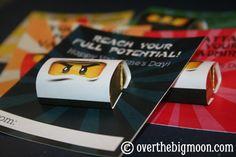 Ninjago Printable  w/ Mini Candy Bar Wrappers