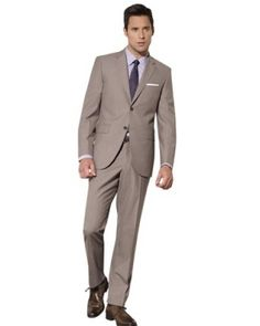 (Limited Supply) Click Image Above: Fitted Hand Tailored Italian Suit. Super 150's 100% Worsted Wool.