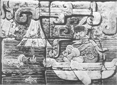 ancient alien, boats, drown man, volcanoes, mayan templ