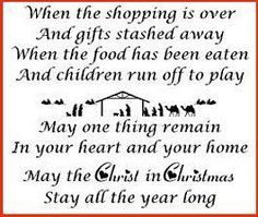 True meaning of Christmas!!