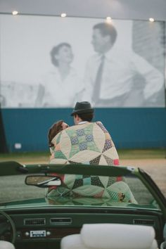 drive-in movie date