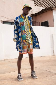 Ghana Fashion x Street Photography from emerging Label YEVU