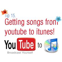 Save songs from YouTube to iTunes