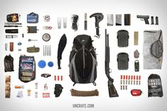 Zombie Survival Backpack