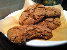 Ginger Cookies- gluten free, soy free, vegan recipe - Foodista.com
