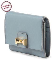 Chloe Leather Bobbie Trifold Wallet