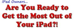 Get The Most Out of Your iPad How To Use The i Pad = > http://a.sw.io/VRygFDM