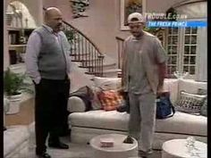 Fresh Prince of Bel Air. Will's father leaves again.