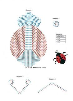 Ladyblug Crochet - Chart