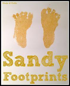 Sandy Footprints - House of Burke