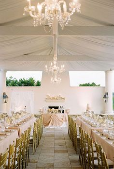 classic formal wedding reception decor