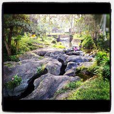 The river rocks at Soulshine Bali