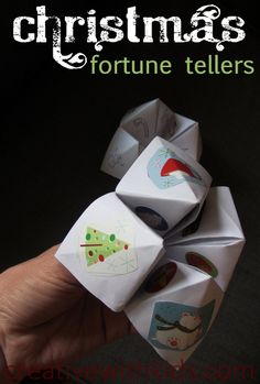 Fortune Tellers...might be good to adapt for New Year's Eve