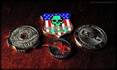 Online forum member challenge coins...