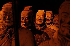 Chinese Emperor Cheng's warriors