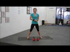 Body Toning Kettlebell Work Out