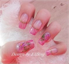 Romantic by EliSing - Nail Art Gallery nailartgallery.nailsmag.com by Nails Magazine www.nailsmag.com #nailart