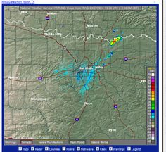 Storm going up near the red river could be the start of the severe weather event for E OK & W AR #arwx #okwx pic.twitter.com/udkpJSBk4T   2:34 pm CDT  4/27/2014
