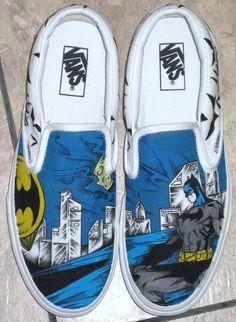 batman custom vans