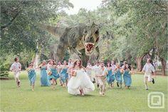 Tirannosauro al matrimonio