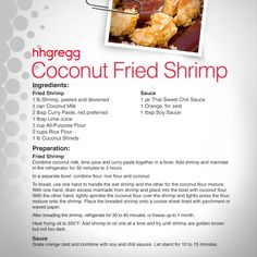 Searching for a fun appetizer to make this weekend? Try our Coconut Fried Shrimp recipe that's easy and delicious! #FoodieFriday