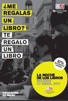 La Noche de los Libros. 2011. Madrid.