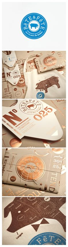 Bête & Fête corporate design, logo, identity branding, event beauti, brand market, brand identity design, packag brand, fête event, bête