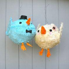 Tweet tweet! #Love Birds #Wedding Piñatas